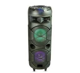Caixa De Som Portátil Torre Basucão 30W Bluetooth SD/USB/FM/TSW<br><br>