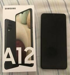 Samsung A12 Novo (1 semana de uso) + IPhone 7 (usado) Ler descrição