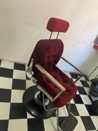 Cadeira hidráulica , reclinável