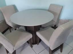 Mesa RD Turim+ 4 cadeiras Turim  de Jantar