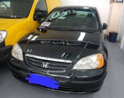 Título do anúncio: Civic Lx 1.7 automático completo Banco de couro 2002 R$ 19.900,00 Aceito Troca !!