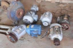 Título do anúncio: Motores elétricos trifásicos usados 3 a 12 cv