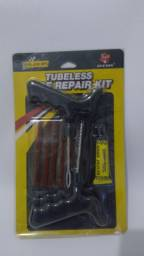Kit reparo borracheiro pneu carro moto//entrega grátis promoção