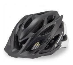 Capacete Bicicleta Ciclismo Mtb Absolute Wild Viseira C/led M/G