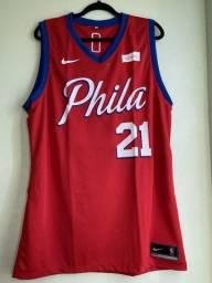 Regata NBA Philadelphia 76ers Vermelha NOVO