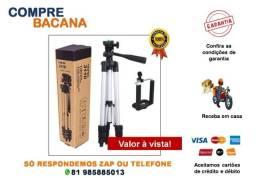 Tripé Celular 3 Way Câmera Ajustável Profissional 1m 3110