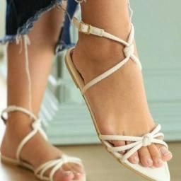 Sandálias Rasteirinhas Verão