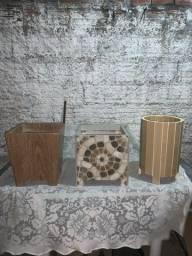 Vasos de cerâmica - R$60,00