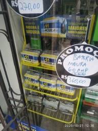 Bateria Zetta 60 amperes R$280,00 dinheiro <br>