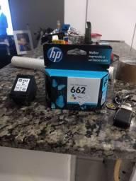Cartuchos de tinta 662, para impressora HP