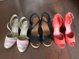 Título do anúncio: Lote de sapatos de marca, 37/38
