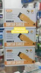 Título do anúncio: Máquina de cortar cabelo knup profissional.
