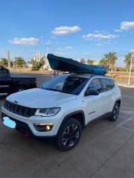 Título do anúncio: Jeep Compass Trailhawk Diesel 4x4 Automático- Branco