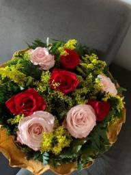 Título do anúncio: Buquê de rosas naturais