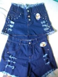 Promoção Shorts Jeans