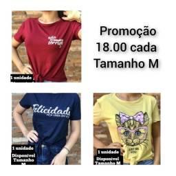 Camisetas novas ( tecido Viscolycra)