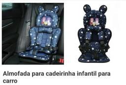 Almofada para cadeirinha infantil pra carro