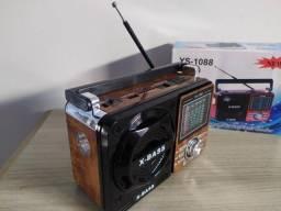 Título do anúncio: Aparelho de Rádio Am e FM X-Bass Ys-1088