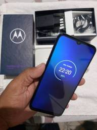 Motorola one fusion 128g completo 3meses de uso bateria de 5000aham
