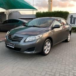 Título do anúncio: Corolla 2010 GLI 1.8 Auto com banco em couro.