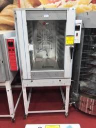 v- Forno turbo 10 telas Gastromaq a gás