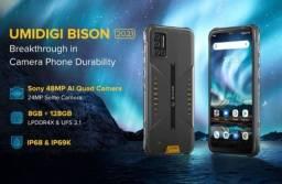 Título do anúncio: Umidigi bison 2021. 128 /8 GB à prova de água e queda novo lacrado NF  garantia de fábrica
