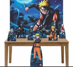 Decoração aniversário Naruto