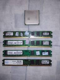 Vende processador + memórias DDR2 800,