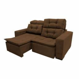 Sofá retrátil reclinável sochi