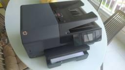 Impressão HP Officejet Pro 6830 usada.