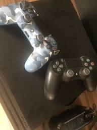 Título do anúncio: Sony Playstation 4 Pro 1tb  Modern Warfare Cor  Preto Onyx.