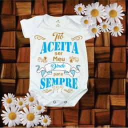 Body bebê Personalizados para padrinhos