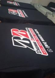 Título do anúncio: Fardamentos personalizados camisa algodão fio 30 com estampa em serigrafia