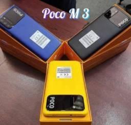 Título do anúncio: Poco M3 Preto/Azul/Amarelo 128 GB/4 GB
