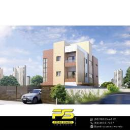 Título do anúncio: Apartamento com 2 dormitórios à venda, 48 m² por R$ 265.000,00 - Altiplano Cabo Branco - J