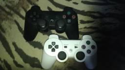 Par de controles para PS3 paralelo semi novo