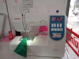 Título do anúncio: Máquina de costura janome 99 pontos decorativos