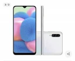Samsung A30s branco semi novo