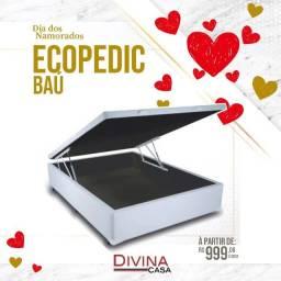 Baú Ecopedic guarda roupa deitado a partir 1399,99