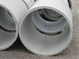 Tubo ou manilha de concreto para água pluvial, dreno, esgoto, cisterna, poço, fossa