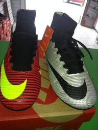 Chuteira Nike mercurial primeira linha