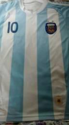 Camisa Argentina Messi