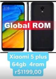 Celular xiaomi 5 plus 64gb 4ram tela 5.9
