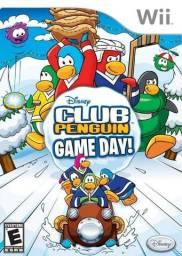 Jogo : Club Penguin Game Day para WII - Muito Novo !!! Impecável !!! , Estado Okm !!!