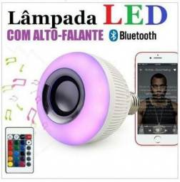 Lâmpada Led Musical Bluetooth - Muda de Cor + com controle