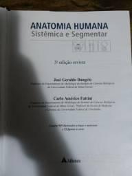 Anatomia Humana Sistêmica e Segmentar - Usado - 3° Edição - Dangelo & Fattini