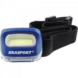 Lanterna p/ cabeça ciclope 3 pilhas AAA Brasfort