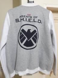 Casaco moletom Agentes da Shield