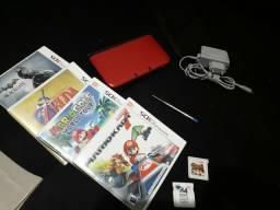 3ds xl com varios jogos e cartao r4 comprar usado  Uberlândia