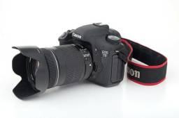 Usado, Câmera Canon Eos 7d Com Lente Efs 18-135 Pouquíssimo Uso comprar usado  Salvador